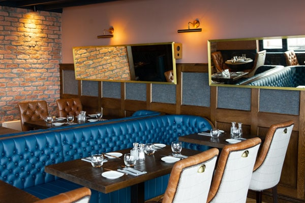 Award winning Cush Restaurant and bar, east Cork, Ballycotton
